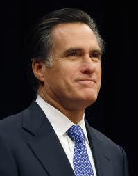 Former MA Governor and 2012 Republican Presidential Nominee Mitt Romney