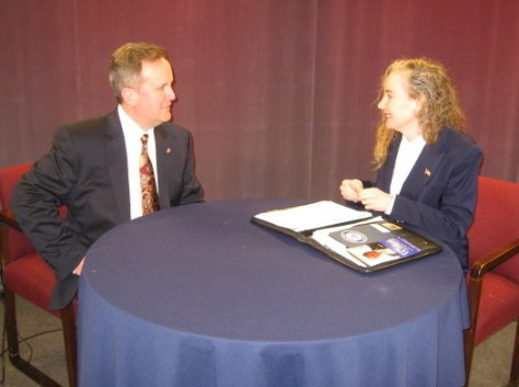 "Bill Stevens Republican candidate (CT-5) and Juliana Simone on ""Conservative Chat"""