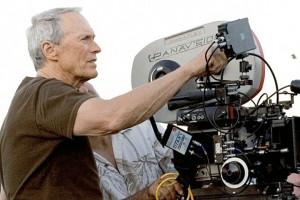 Film director Clint Eastwood