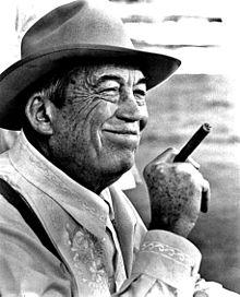 Film director John Huston
