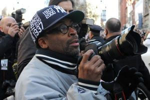 Film director Spike Lee