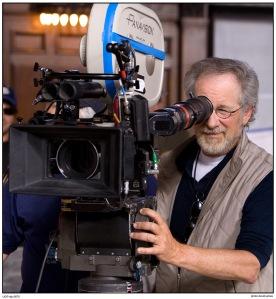 Film director Steven Spielberg