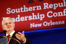 Newt Gingrich Southern Republican Leadership Conference New Orleans 2011