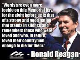 MemorialdayRonaldReaganquotesalute