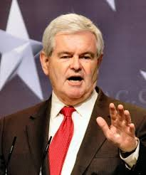 Former House Speaker and Presidential candidate Newt Gingrich