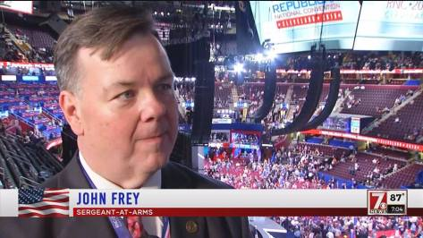 CT State Rep. John Frey at the 2016 convention in Ohio.