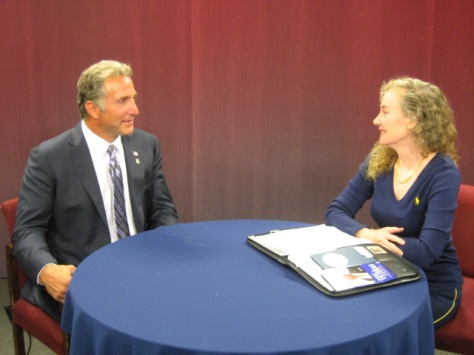 "Congressional candidate Matthew Corey (CT-1) and Barkhamsted Chair and Host of ""Conservative Chat"" in its eleventh year of political interviews."