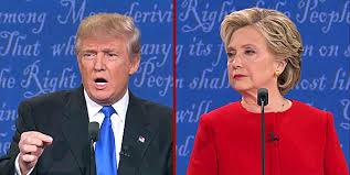trumpclintondebate1photo