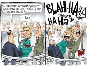 clintonoathcartoon